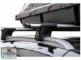 Багажник Mazda 6 12- универсал, с просветными рейлингами - Aguri Runner Silver (алюминиевый сквозной)