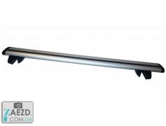 Багажник JAC M1 07-15 с просветными рейлингами - Amos Alfa Wind (алюминиевый)