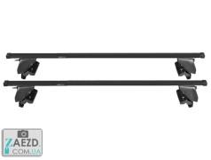 Багажник Skoda Citigo 11- с гладкой крышей - Amos Dromader Stl Plus (стальной)