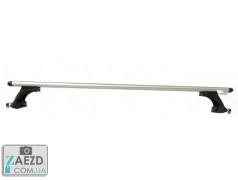 Багажник Geely MK 06-14 седан/хэтчбек, с гладкой крышей - Amos Koala Wind (алюминиевый)