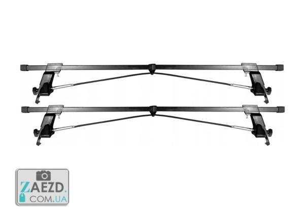 Багажник Daewoo Sens 02-18 с гладкой крышей - Amos Tramp Stl (стальной)