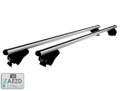 Багажник Lancia Musa 07-12 с просветными рейлингами - Gev Thor (алюминиевый)