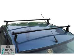 Багажник Dacia Logan 2 13- с гладкой крышей - Kenguru Logan (стальной)