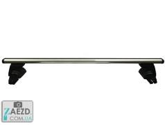 Багажник Geely Emgrand EC7 09-15 седан/хэтчбек, с гладкой крышей - Terra Clip Aero с кожухом (алюминиевый)