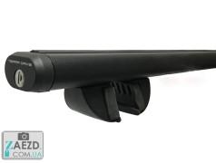 Багажник Ravon R2 15- с просветными рейлингами - Terra R-Fix Aero черный матовый (алюминиевый)