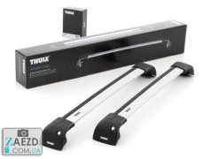 Багажник Tesla Model S 16- с крепежными местами - Thule WingBar Edge 959 FP (алюминиевый невыступающий)