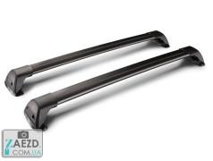 Багажник Buick Encore 12-19 с интегрированными рейлингами - Whispbar FlushBar IR Black (алюминиевый невыступающий)