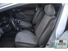 Авточехлы с алькантарой BMW 3 E36 90-98 (Avto Mania - S-Line)