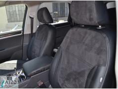 Авточехлы с алькантарой Kia Ceed 06-12 (Союз Авто - Elite-Sport GT)