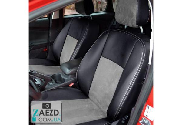 Авточехлы с алькантарой Honda CR-V 3 06-12 (Союз Авто - Standart)
