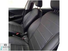 Авточехлы из экокожи Seat Toledo 12-19 (Союз Авто - Elite-Sport GT)