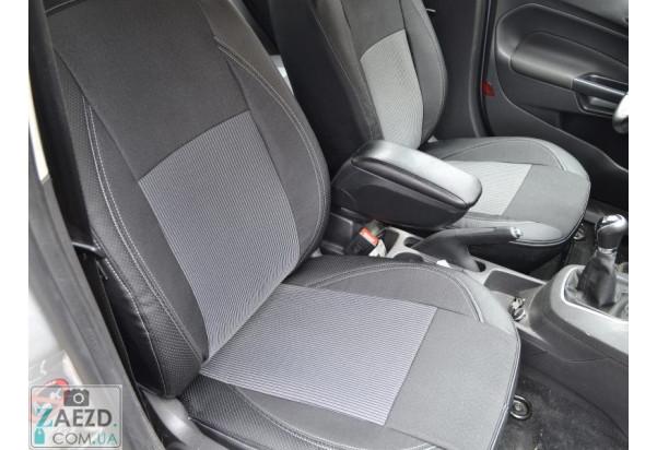 Авточехлы комбинированные Dacia Logan MCV 2 13-16 (Союз Авто - Elite)