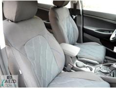 Авточехлы Suzuki SX4 06-13 хэтчбэк (Союз Авто - Ромб)
