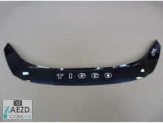 Дефлектор капота Chery Tiggo 5 15- (Vip Tuning)