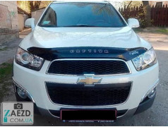 Дефлектор капота Chevrolet Captiva 11-19 (Vip Tuning)