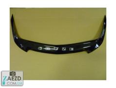 Дефлектор капота Chevrolet Cruze 08-15 короткий (Vip Tuning)