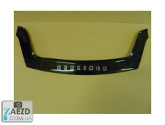 Дефлектор капота Citroen Berlingo 2 08-18 короткий (Vip Tuning)