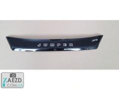 Дефлектор капота Citroen Jumper 14- короткий (Vip Tuning)