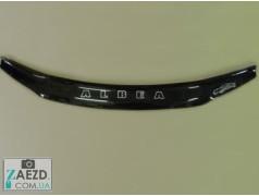 Дефлектор капота Fiat Albea 02-11 (Vip Tuning)
