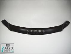 Дефлектор капота Lexus RX 350 15- короткий (Vip Tuning)