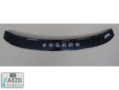 Дефлектор капота Lifan 620 07-13 (Vip Tuning)
