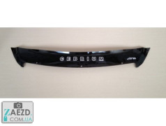 Дефлектор капота Lifan 720 12-16 короткий (Vip Tuning)