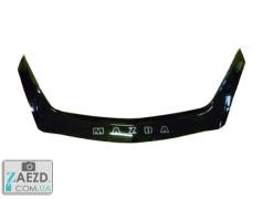Дефлектор капота Mazda 3 09-14 седан, хэтчбек (Vip Tuning)