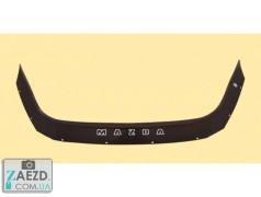 Дефлектор капота Mazda 3 13-19 седан, хэтчбек (Vip Tuning)