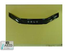 Дефлектор капота Mitsubishi Colt 5 95-02 (Vip Tuning)