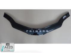 Дефлектор капота Nissan Primera 01-07 (Vip Tuning)