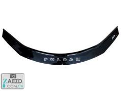 Дефлектор капота Nissan Pulsar 14- (Vip Tuning)