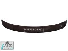 Дефлектор капота Peugeot 3008 09-16 (Vip Tuning)