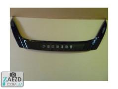 Дефлектор капота Peugeot 4007 07-13 (Vip Tuning)