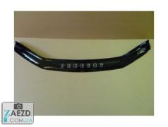 Дефлектор капота Peugeot 406 95-99 (Vip Tuning)