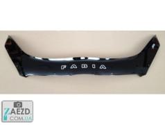 Дефлектор капота Skoda Fabia 2 10-15 (Vip Tuning)