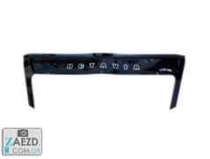 Дефлектор капота Skoda Octavia A5 04-12 с клыками (Vip Tuning)