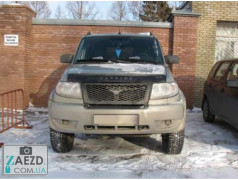 Дефлектор капота УАЗ (UAZ) Patriot 3163 (Vip Tuning)