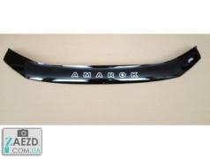 Дефлектор капота VW Amarok 09- (Vip Tuning)
