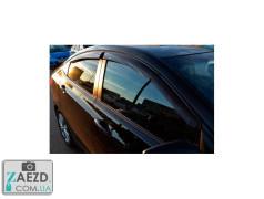 Дефлекторы окон Hyundai Accent 4 11-17 седан (Cobra Tuning)
