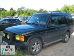 Дефлекторы окон Land Rover Discovery 2 99-04 (Cobra Tuning)