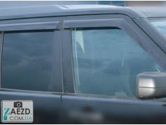 Дефлекторы окон Land Rover Discovery 3 04-09 (Cobra Tuning)