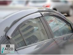 Дефлекторы окон Mazda 3 09-14 седан (Cobra Tuning)