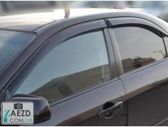 Дефлекторы окон Mazda 6 02-08 седан (Cobra Tuning)