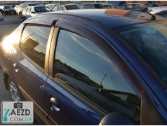 Дефлекторы окон Peugeot 206 98-12 хэтчбек, 5 дверей (Cobra Tuning)