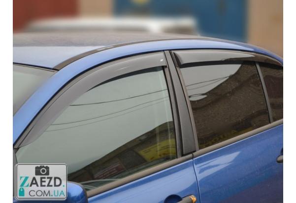 Дефлекторы окон Renault Megane 2 02-09 седан (Cobra Tuning)