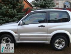 Дефлекторы окон Suzuki Grand Vitara 97-05 3 двери (Cobra Tuning)