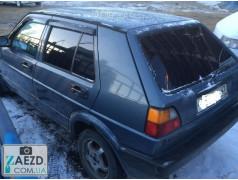 Дефлекторы окон VW Golf 2 82-91 хэтчбек, 5 дверей (Cobra Tuning)