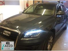 Дефлекторы окон Audi Q5 08-18 5 дверей (VL Tuning)