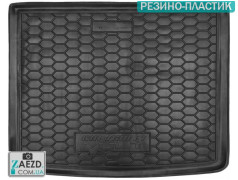 Коврик в багажник Chevrolet Volt 10-16, резино-пластик (Avto Gumm)