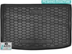 Коврик в багажник Kia Stonic 17- верхняя полка, резино-пластик (Avto Gumm)